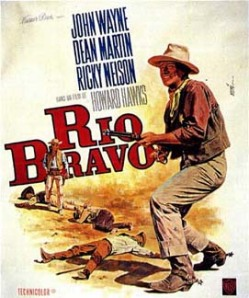Rio Bravo movie poster